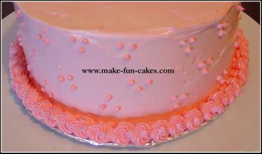 Amazingly Easy Flower Cake