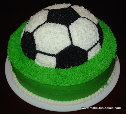 Soccer Birthday Cakes Recipes