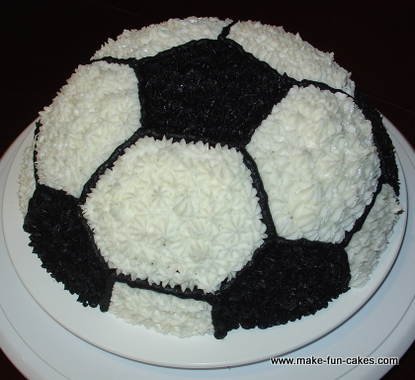 Soccer Cake You Can Make